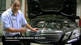 ¿Por qué se calienta el motor? ¿Cómo evitarlo?