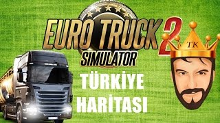 Bolu'ya Yolculuk | Euro Truck Simulator 2 Türkçe | Türkiye Haritası