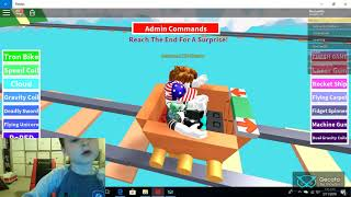 Roo Roblox Cart Ride 1st Video