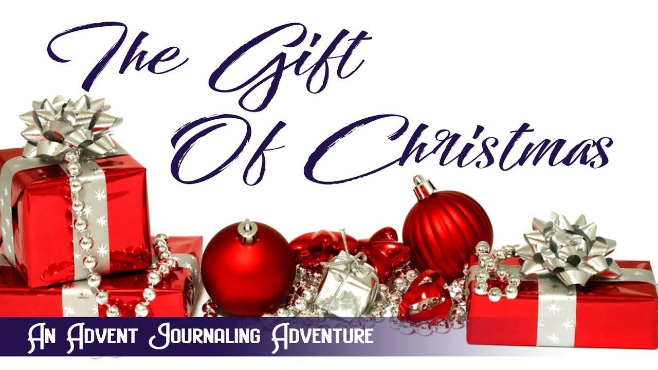 Bible Journaling: The Gift of Christmas Advent Journaling Invitation ...