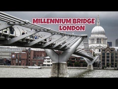 Millennium Bridge / London 2016 (HD)