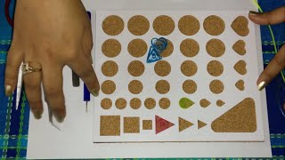45. How to use Quilling Mould / Stencil