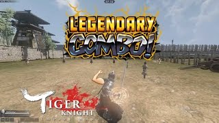 How to combo attack in Tiger Knight