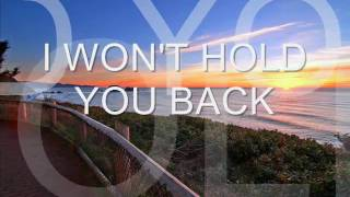 i wont hold you back by Toto (Disclaimer) with lyrics.