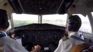 Aterrizando en Tenerife Norte