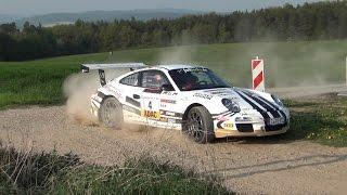 Ruben Zeltner Porsche 911 GT3 RS german Rally Champion 2014 ADAC Rallye Masters Winner 2014