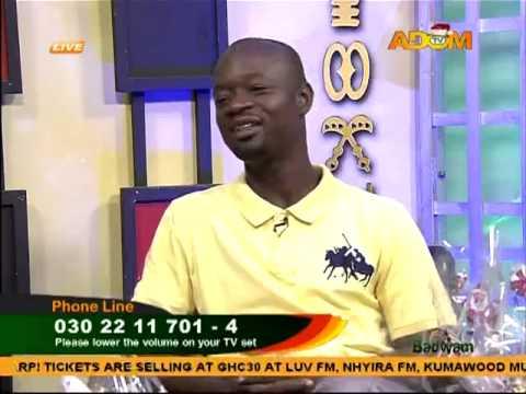 Preparing a Hamper - Badwam on Adom TV (26-12-14)