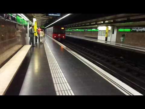 TMB. Metro de Barcelona. L3. Vallcarca