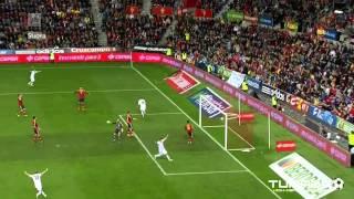 Spain vs. Finland 1-1, Teemu Pukki goal (YLE HD)