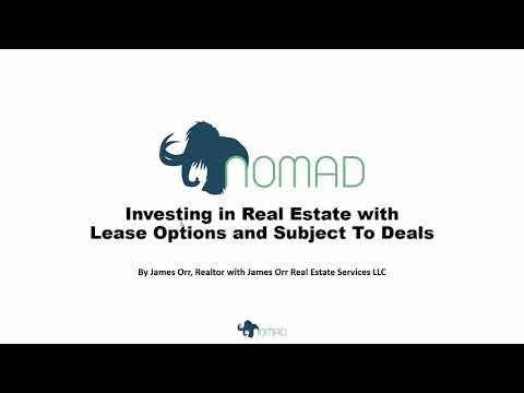 Buying Properties on Lease Option, Lease Purchase or Subject To