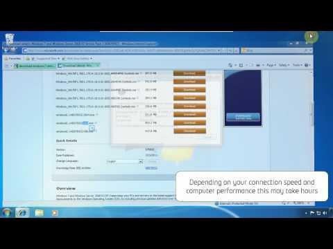 windows 7 sp2 network install