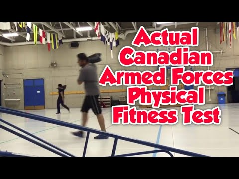 Canadian Armed Forces Physical Fitness Test