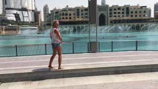 Dubai fountain Sama Dubai 13:30 Show 2016