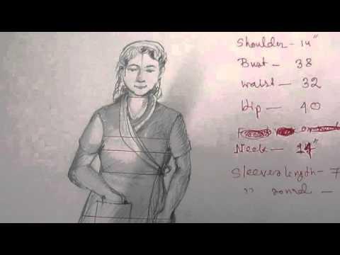 How to Make House Coat Pattern / Drafting part1 of 4 hindi