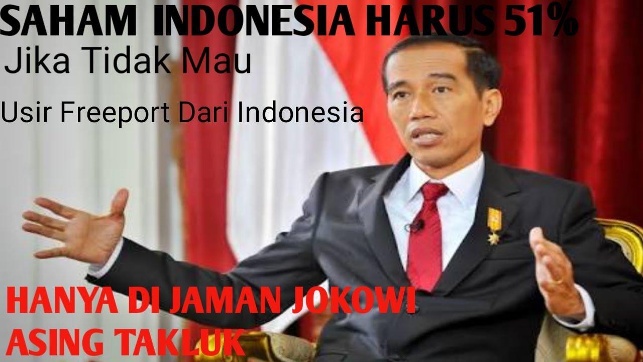 Wow!!! Hanya Di Jaman Presiden Jokowi Saham Preport Jadi 51% Milik Indonesia