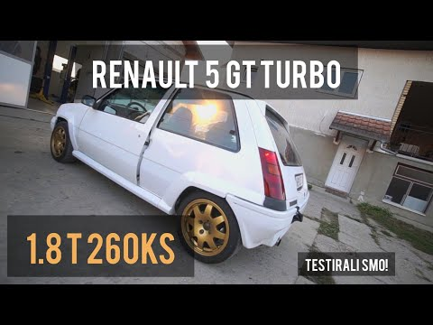 Renault 5 GT Turbo   Francuz Koji Nemce Baca Na Kolena   Powered By NovaSpeed   Krbulja Stil