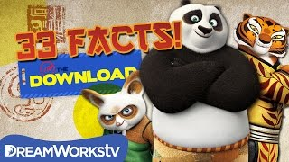 33 Kung Fu Panda Facts You Never Knew! | THE DREAMWORKS DOWNLOAD