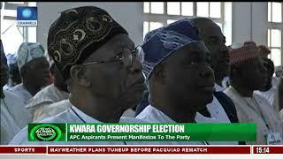 Kwara Governorship Election: APC Aspirants Present Manifestos To The Party