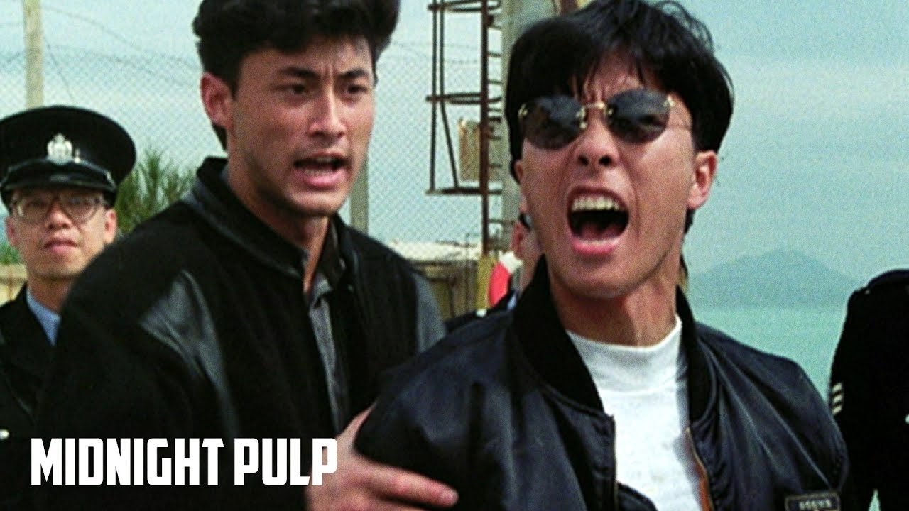 Download Young Donnie Yen puts so much swag in his action | In the Line of Duty 4: Witness (1989)