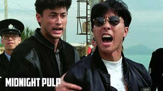 Young Donnie Yen Swagger | Rare HD fight from 'In the Line of Duty 4' | Midnight Pulp