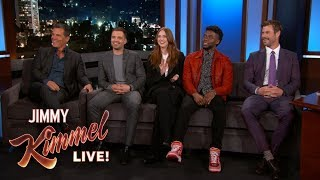 Avengers: Infinity War Cast Reveals What They Stole from the Set thumbnail