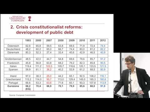 Transformation of European economic policy-making | Prof. Dr. Bieling