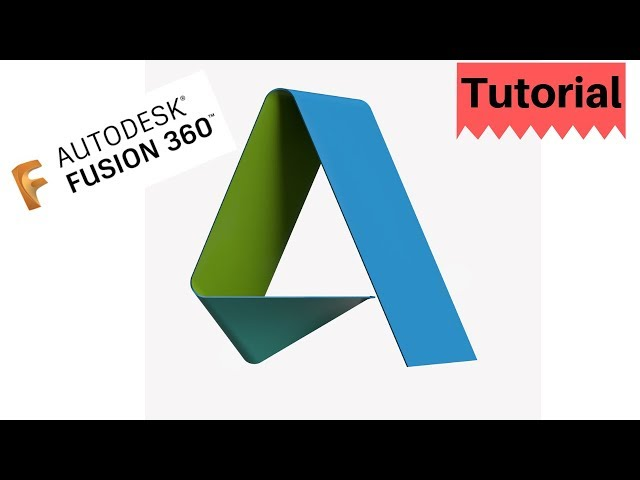 Design Autodesk Logo in Fusion 360 -Patch Workspace-Mechatheart Tutorials