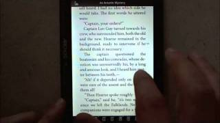 Mantano Reader for Android : Reading books