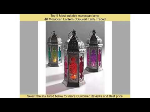 Top 9 Most suitable moroccan lamp