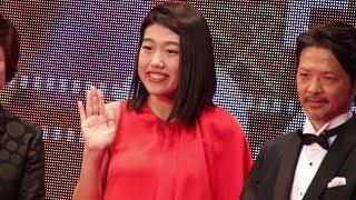 25日、第31回東京国際映画祭初日にレッドカーペットが行われ、お笑い...