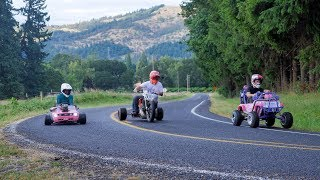 Crazy Power Wheels Builds and Drift Trike Go Full Send!