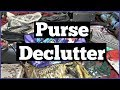 Purse Collection Declutter 2018 | Cleaning Out My Purses