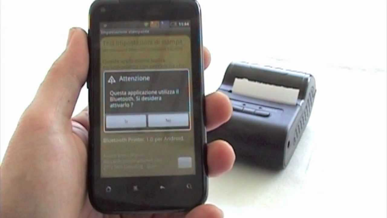Android Bluetooth Printer Driver For Esc Pos Printers Youtube
