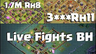 [287] Live Fights | CW Rh9 und 11 Fights und Lootfights Rh8 und 10 | Clash of Clans COC Deutsch