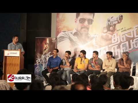 Hiphop Tamizha at Thani Oruvan Movie Success Meet