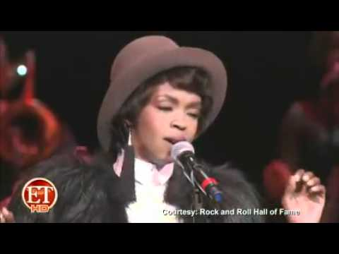 Lauryn Hill - One Step Ahead COver Aretha Franklin