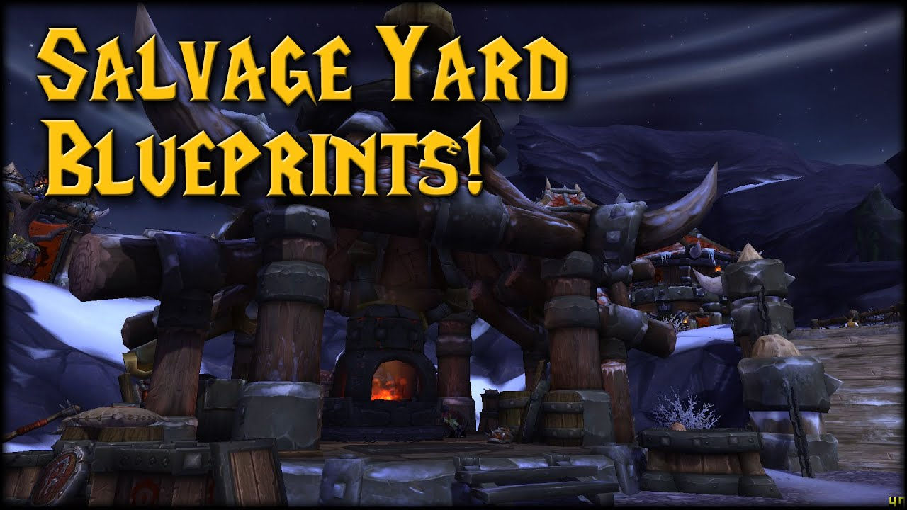 Warlords the salvage yard blueprints location youtube blueprints location malvernweather Image collections