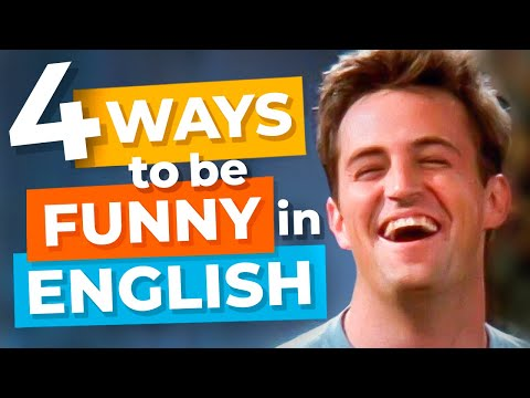 How To Be Funny In English With Chandler From Friends