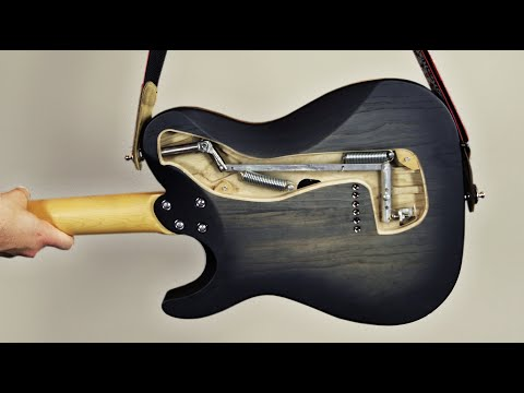 The B-Bender Guitar (the Strap Pulls The B String)