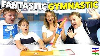Fantastic Gymnastics FRIDA FLICKFLACK Challenge 🤸🏼♀️  😁 TipTapTube Family 👨👩👦👦