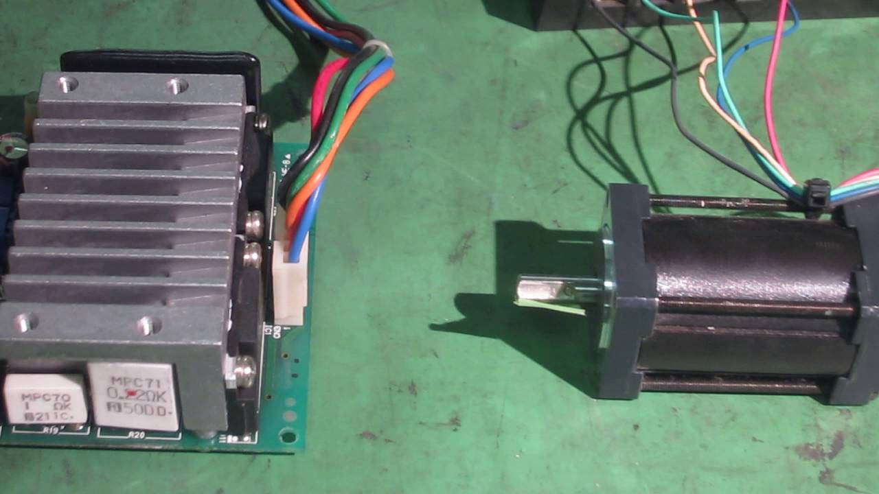 oriental motor pmm35a2 csd5814n p2 5 phase stepping motor unit for rh youtube com