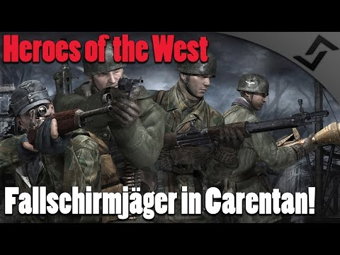 Fallschirmjäger in Carentan  Heroes of the West  Red Orchestra 2  Rising Storm Western Front Mod