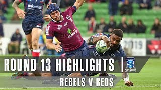 ROUND 13 HIGHLIGHTS: Rebels v Reds - 2019