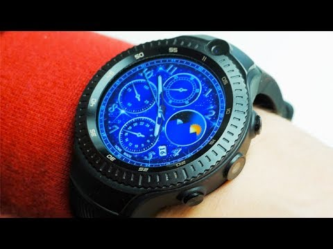 Смарт часы с двумя камерами Zeblaze THOR 4 Dual 4G