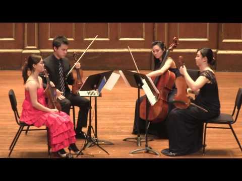 Debussy String Quartet in G minor (live performance)