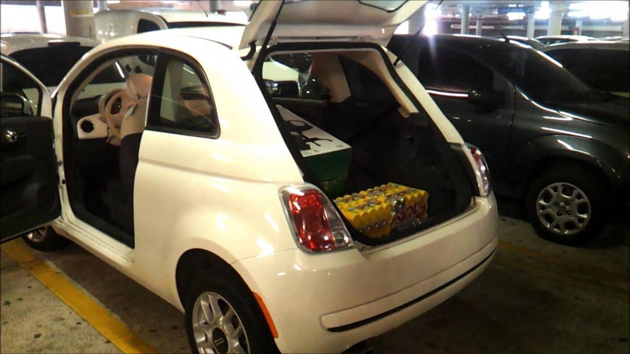 Fiat 500 Capacidade Incr Vel De Carga Youtube