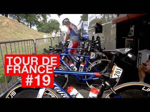 21.07.06 En immersion avec le Team TotalEnergies - Tour de France #19