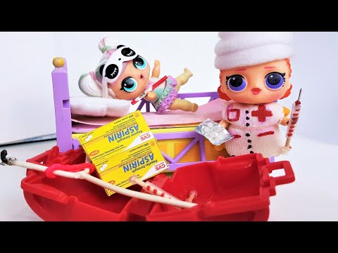 5 МИНИ ИДЕЙ ДЛЯ ДОКТОРА КУКЛЫ ЛОЛ СЮРПРИЗ И БАРБИ | Life Hacks For Lol Barbie Dolls