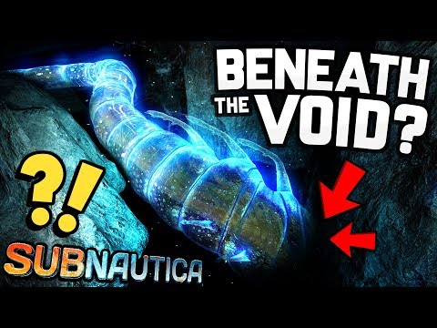 Subnautica - WE FOUND THE END! Building & Exploring Beneath the Void - Subnautica Gameplay
