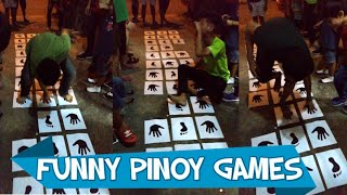 VIRAL FUNNY PINOY PARLOR GAMES - Filipino Christmas Party Games Ideas - Valencia Vlogs